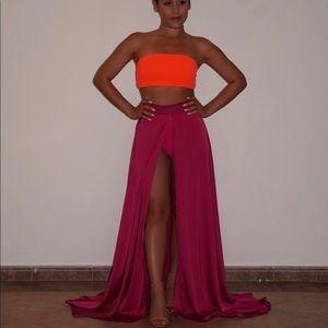 Dresses & Skirts - Bandeau and skirt